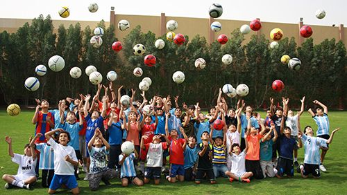 football camp in Sharjah